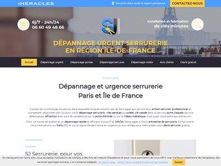 Serrurerie : SJ Bâtiment à Paris (75)