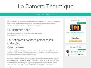 La Caméra Thermique : pour trouver des renseignements utiles
