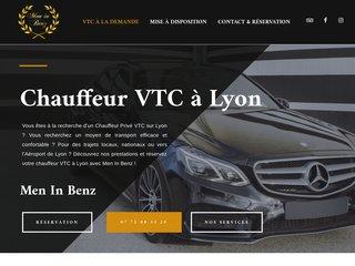 Chauffeur Privé VTC Lyon avec Men in Benz