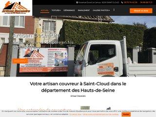 Toiture : Artisan Decendre à Saint-Cloud (92)