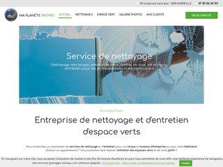 Nettoyage : MA PLANETE PROPRE à Marseille (13)