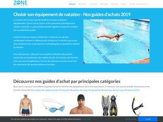 Choisissez les bons équipements de natation