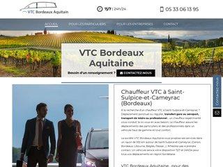 Votre chauffeur VTC à Saint-Sulpice-et-Cameyrac