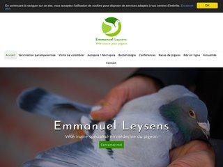 Emmanuel Leysens - Vétérinaire spécialisé en médecine du pigeon