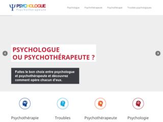 Le meilleur choix : psychologue ou psychothérapeute