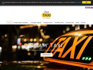 Transport taxi à Chamonix-Mont-Blanc