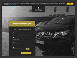 PRIVATE DRIVER, Chauffeur privé en Provence