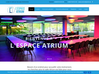 L'espace Atrium -   Location de salle pour tous types d'événements