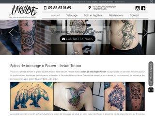 Votre salon de tatouage à Rouen