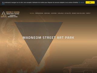 Madneom Street Art Park, Création et location de mobilier événementiel