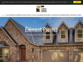 Élément Pierres - Création et rénovation d'éléments en pierre