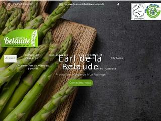 Earl de la Belaude - Producteur d'asperge