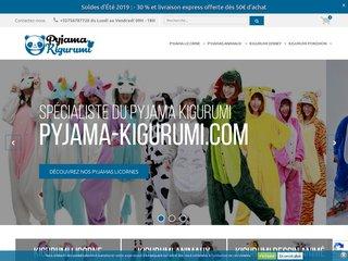 Boutique en Ligne de Kigurumi et Pyjamas Japonais