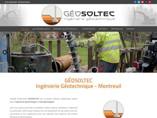 Geosoltec : mission géotechnique