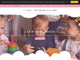 LES P' TITS BOUTS - Réseau de micro-crèche
