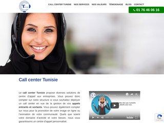 Standard téléphonique situé en Tunisie