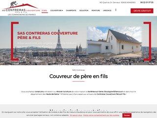 Toiture : SAS CONTRERAS Père et Fils à Asnières (92)