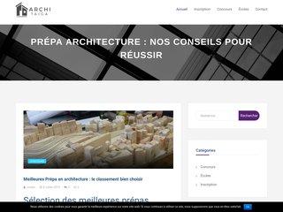 Blog prépa architecture