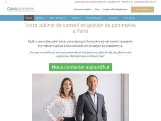 Cabinet de conseil en gestion de patrimoine à Paris