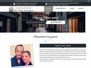 Services de location d'appartement à Rouen