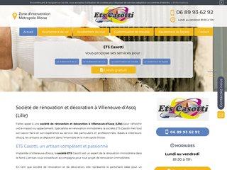 Société de rénovation à  Villeneuve-d'Ascq