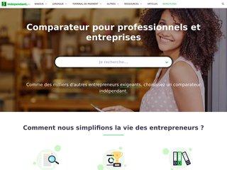Comparateur pour entreprises et indépendants