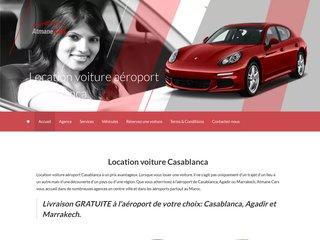 Location voiture aéroport Casablanca