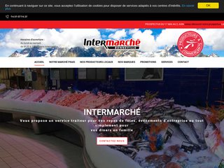 Intermarché, magasin à Bonneville