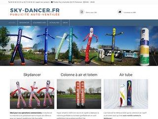 Skydancer, la boutique de publicitaire gonflable