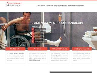 Aménagement pour améliorer l'accessibilité des handicapés
