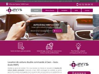 Agence de location de voiture double commande à Caen