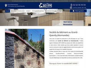 Rénovation bâtiment à Normandie