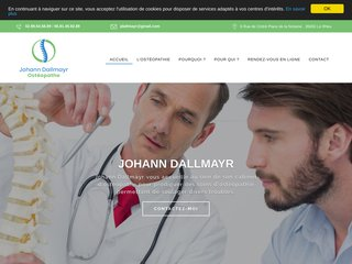 Johann Dallmayr, Ostéopathe au Rheu