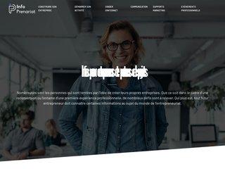 Le site des entrepreneurs et porteurs de projets
