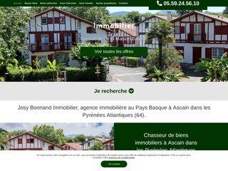 Agence immobilière Ascain Pays Basque