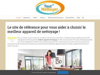 Tout Nettoyer : portail d'information pour choisir les meilleurs appareils de nettoyage