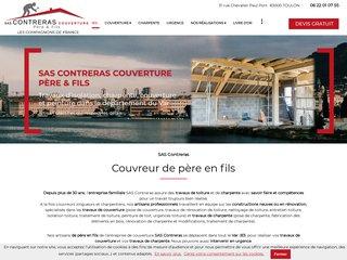 Toiture : SAS CONTRERAS à Toulon (83)