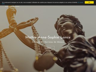 Maître Anne-Sophie Lance