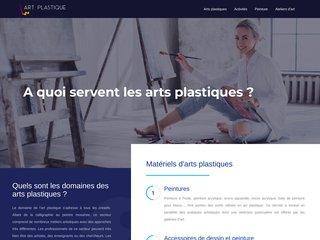 Un portail réservé aux informations sur les arts plastiques
