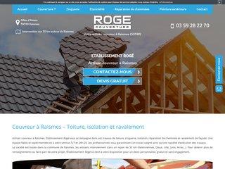 Roge Couverture : entreprise de couverture à Raismes (59)
