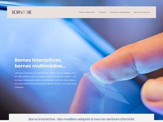 Informations sur les bornes interactives