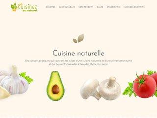Cuisinez au Naturel, le blog de la cuisine