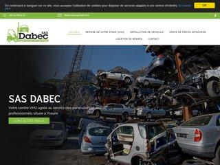 SAS DABEC, votre centre VHU agréé à Yzeure