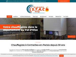 Chauffagiste : STAC Energy  dans le Val d'Oise (95)
