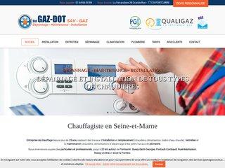 Chauffagiste : GAZ-DOT en Seine et Marne (77)