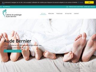 Aude Bernier - Pédicure podologue