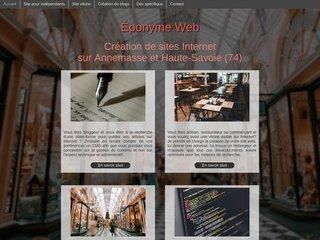 Éponyme Web
