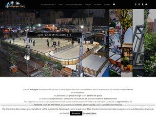 Location de patinoire sur Marseille et Nice