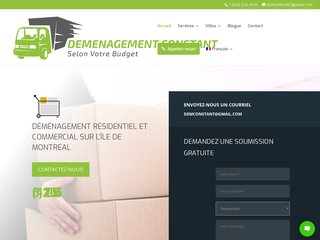 Entreprise de déménagement