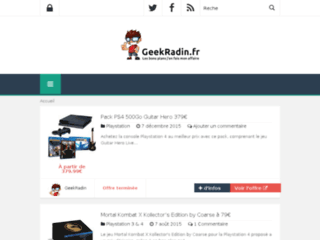 Geek Radin, le blog high-tech et informatique
